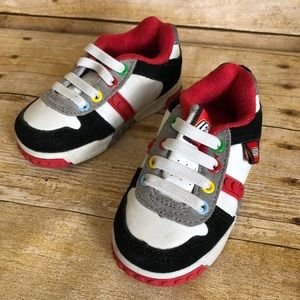 Genuine Lego Red & White Archer Toddler Sneakers